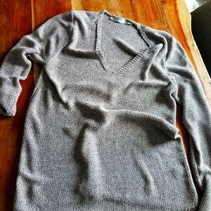 Contemporaine Ribbon weave Sweater